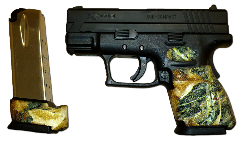 Decal grips for Springfield XD and XD Mod 2 - Custom Wrap