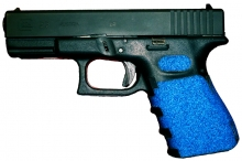 Glock 23 Decal Grips - Blue Glock 19
