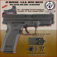 Mount - Red Dot Sight for Springfield XD 9