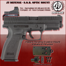 Springfield XD 40 or 45 Red Dot Optic Mount