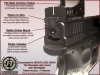 Springfield XD Optic Mount Plate - Burris Fastfire and Venom-Viper